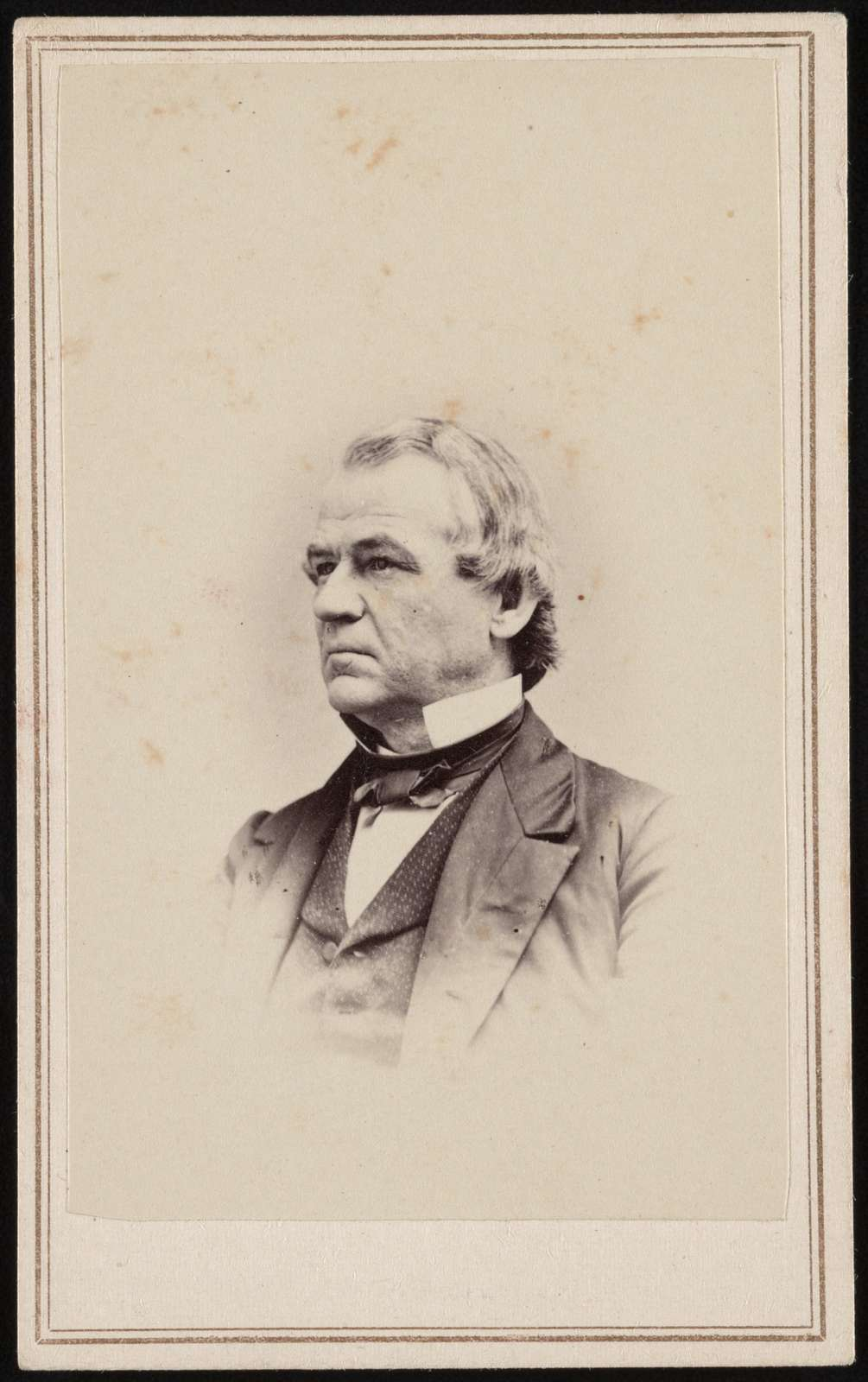 Andrew Johnson, 17th President of the United States and Vice President to Abraham Lincoln