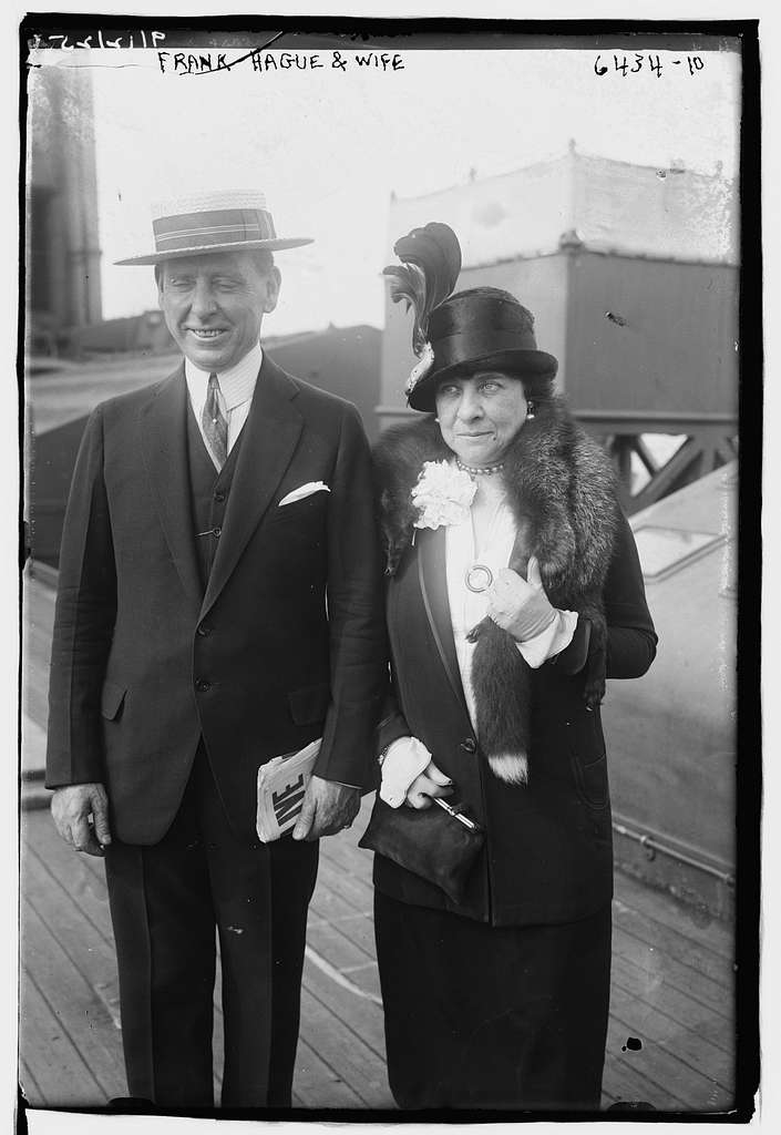 Haugue and wife