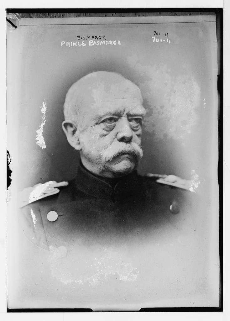 Prince Bismarck, portr