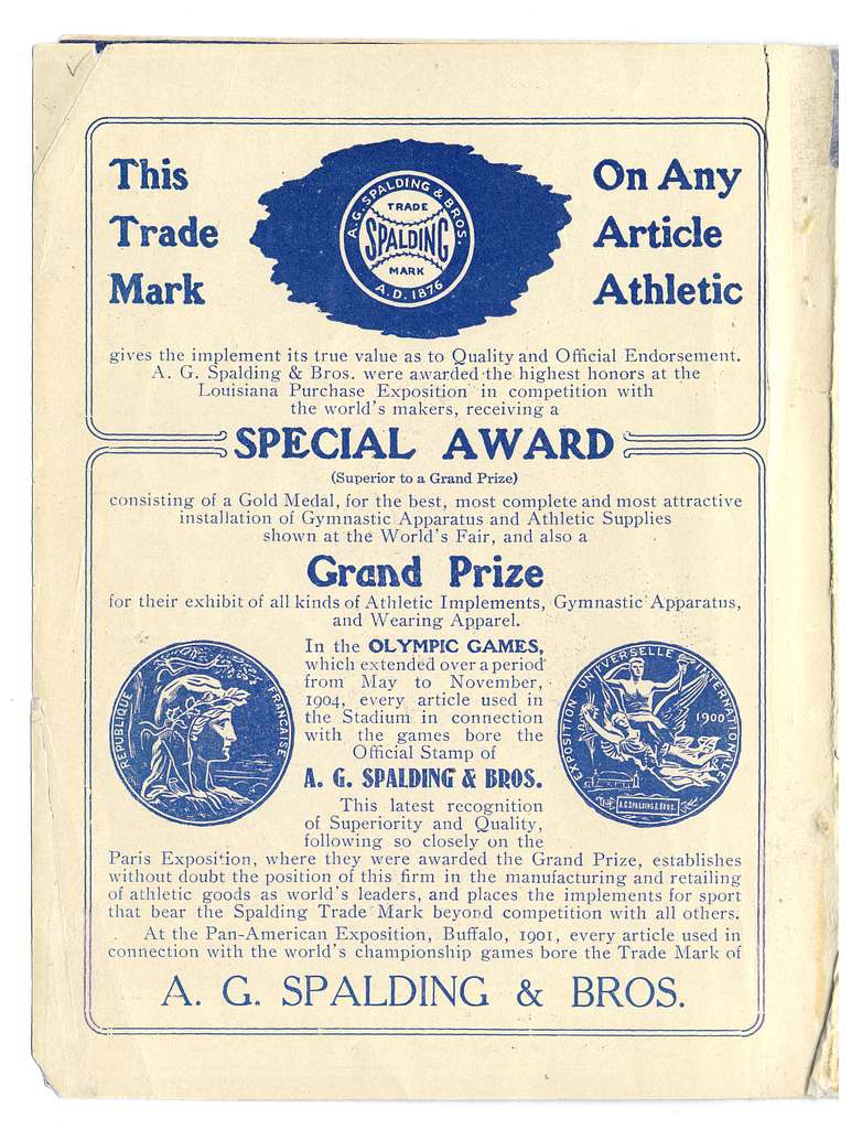 Official indoor base ball guide containing the constitution, 1905