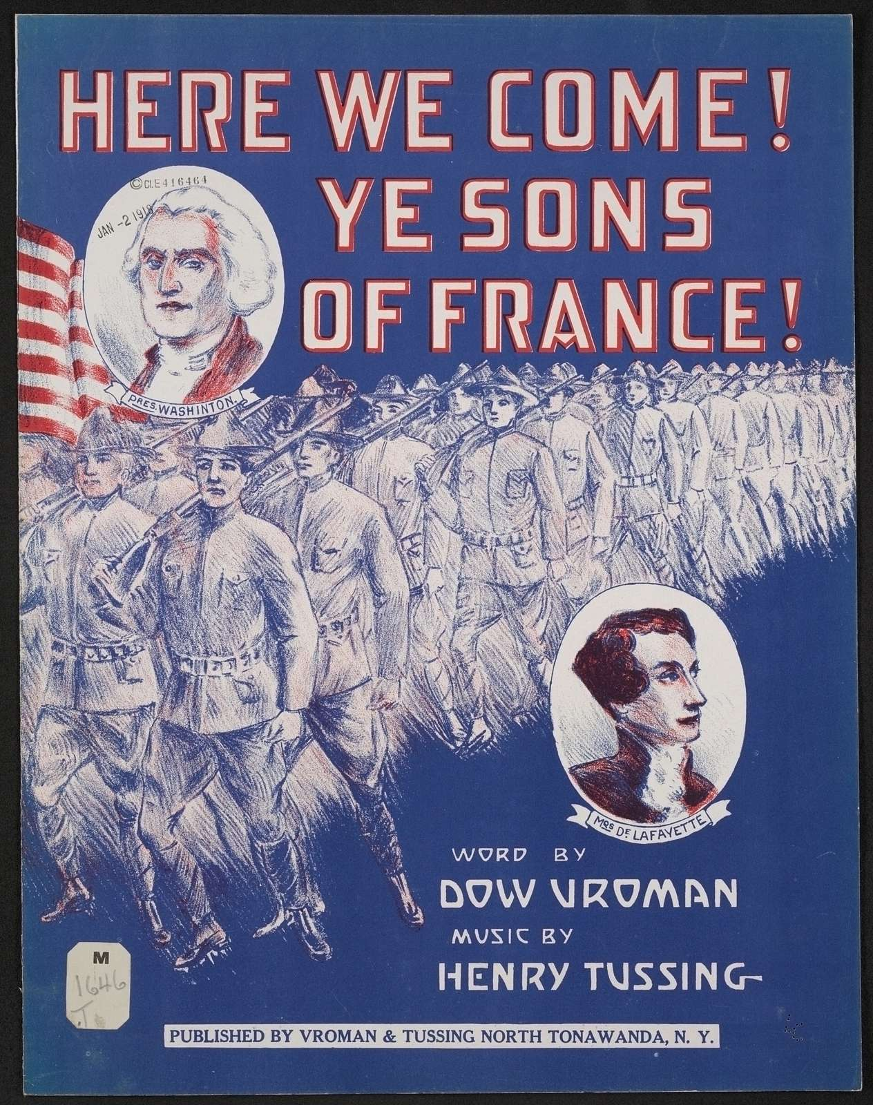 Here we come! ye sons of France