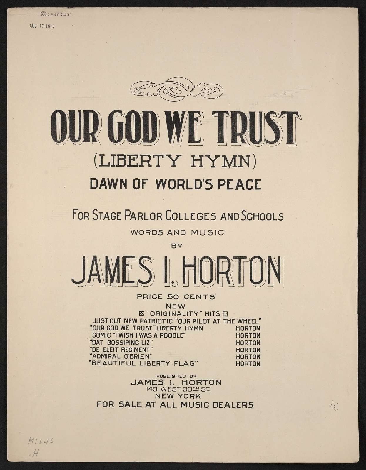Our god we trust