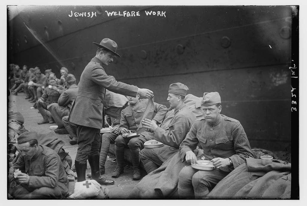Jewish welfare work, 332nd Infantry