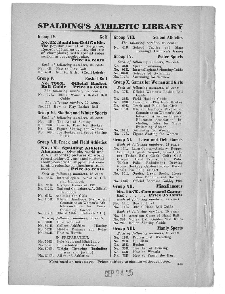 Official indoor base ball guide containing the constitution, 1925-1926