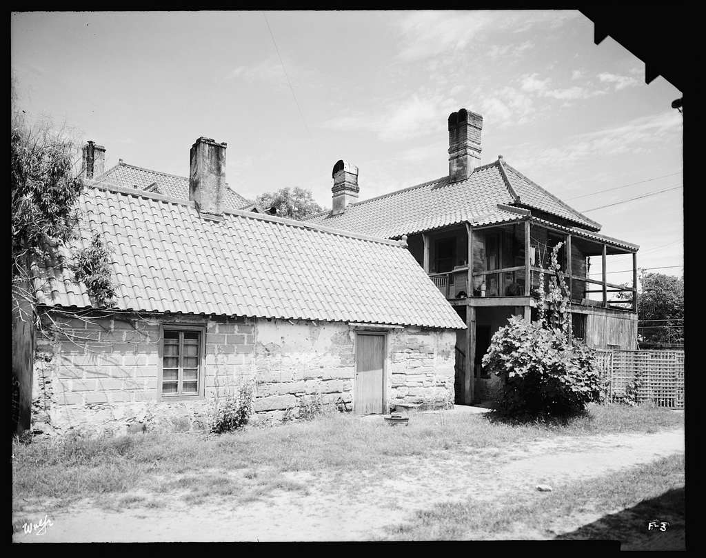 Fatio House, St. Augustine, St. Johns County, Florida