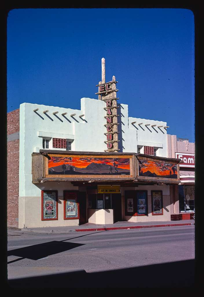 El Rancho Theater, Pine Street, Deming, New Mexico
