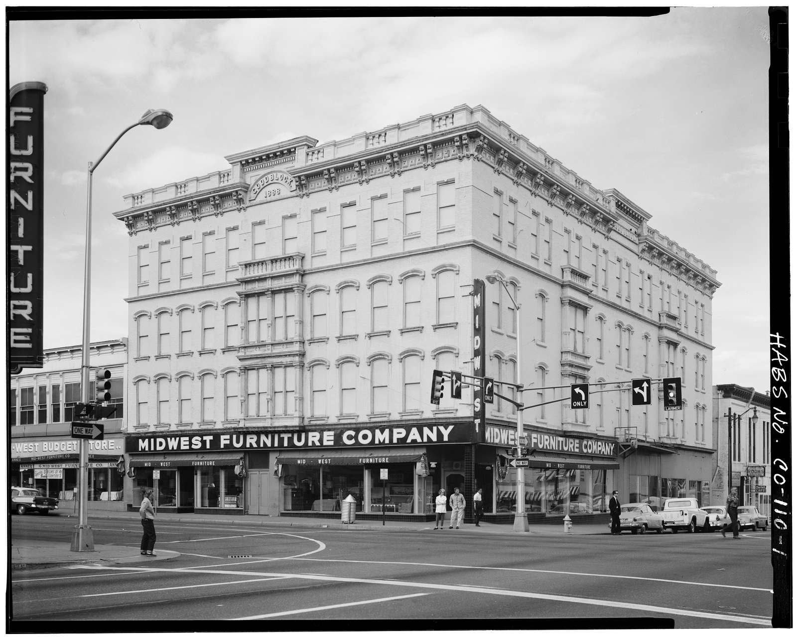 Goodblock Building, Larimer & Sixteenth Streets, Denver, Denver County, CO
