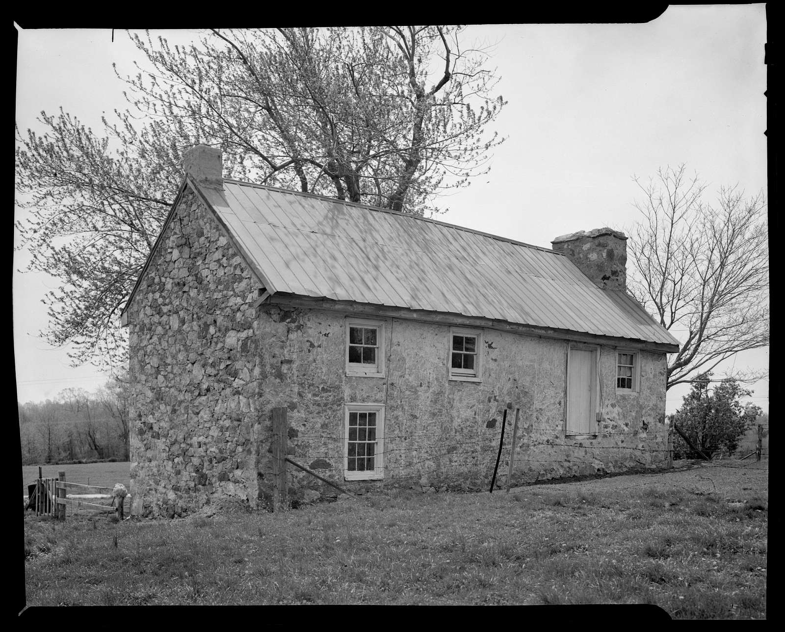 House (Rural Farmhouse), Pleasant Hill Road, Corner Ketch, New Castle County, DE
