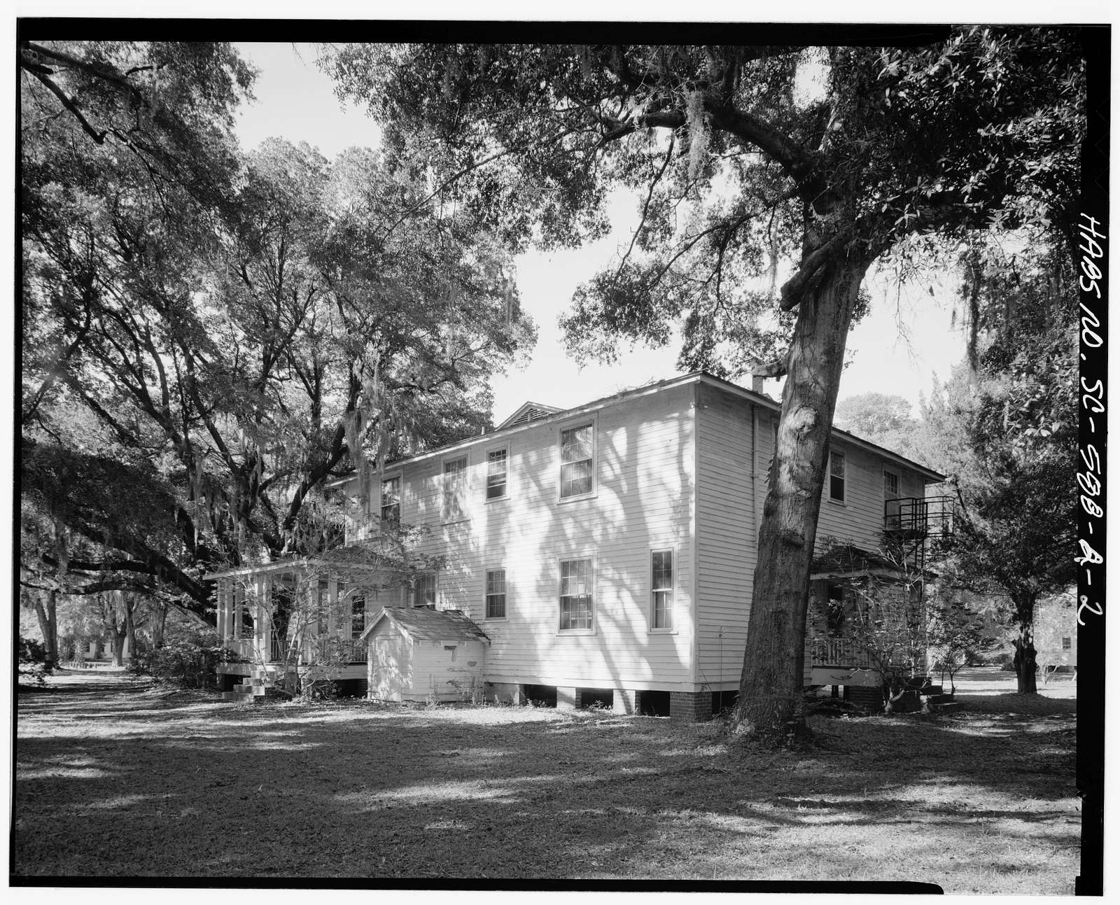 Penn School Historic District, Arnett House, SC Route 37, 1 mile South of Frogmore, St. Helena Island, Frogmore, Beaufort County, SC