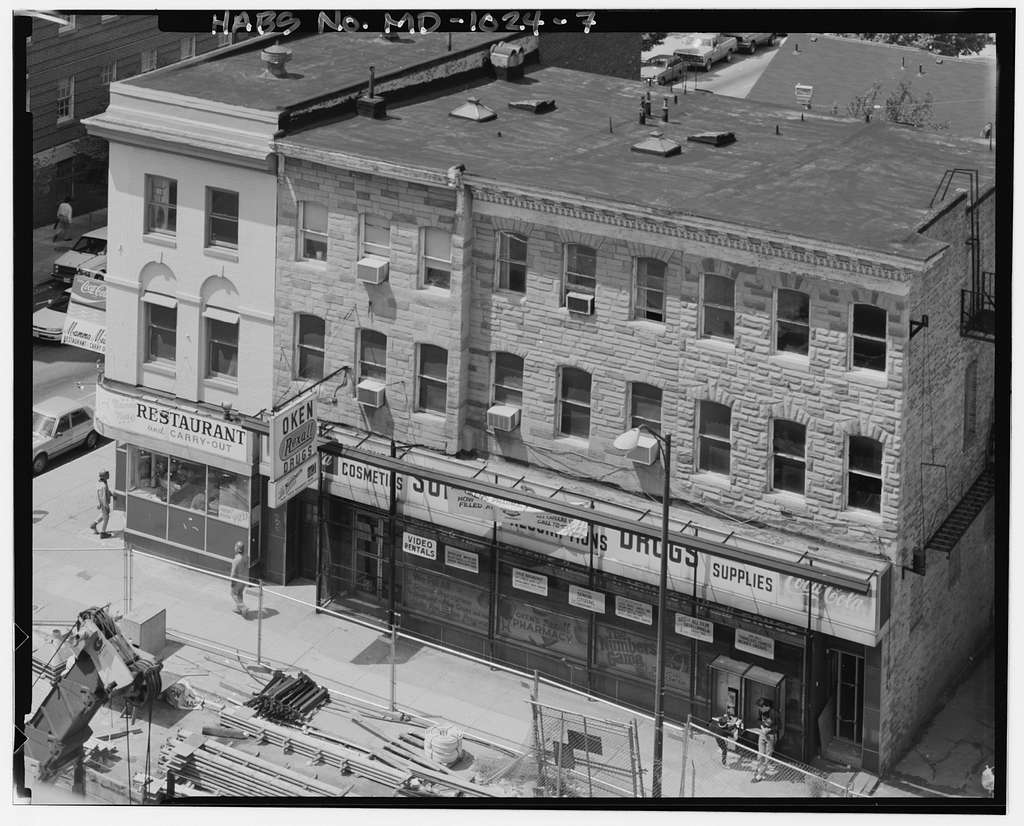 702 North Broadway (Commercial Building), 702 North Broadway, Baltimore, Independent City, MD