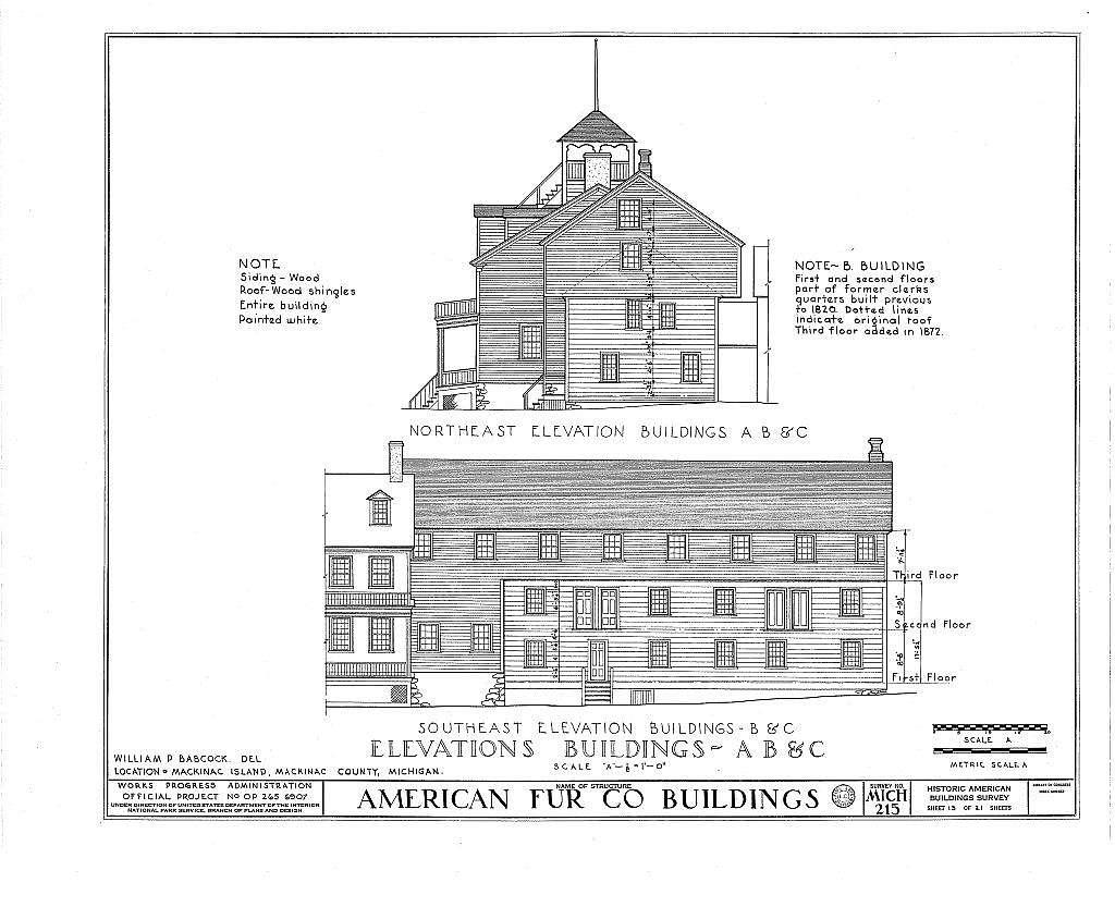 American Fur Company Buildings, Mackinac Island, Mackinac County, MI