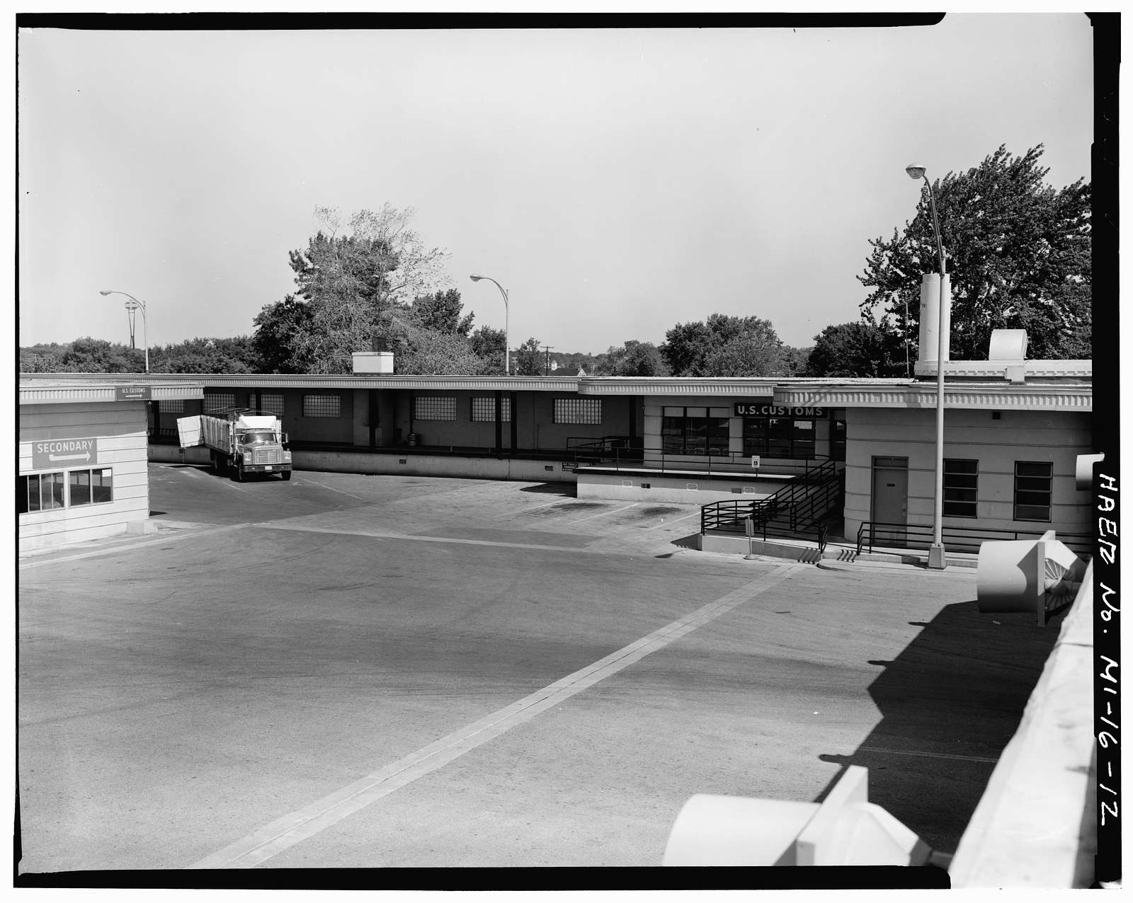 Blue Water Bridge Plaza, 410 Elmwood Street, Port Huron, St. Clair County, MI