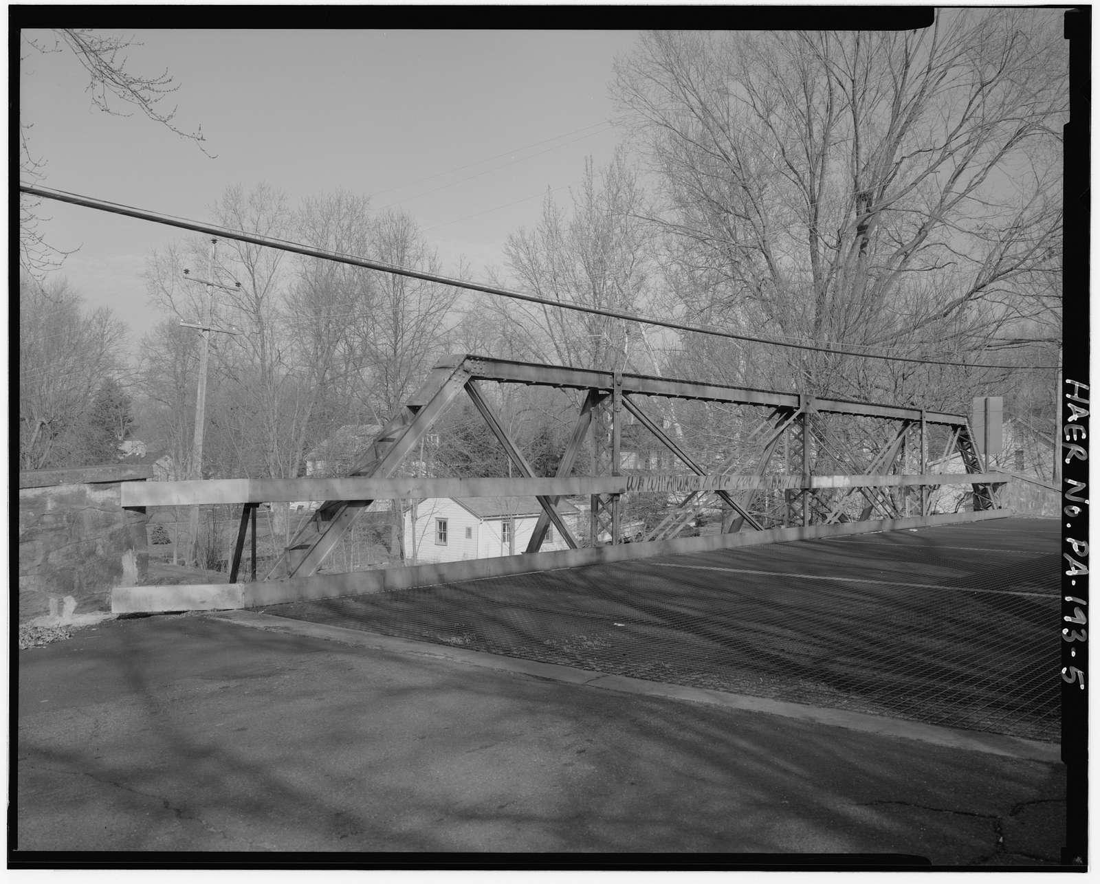 Bucks County Bridge No. 313, Spanning Delaware Canal at Letchworth Avenue, Yardley, Bucks County, PA
