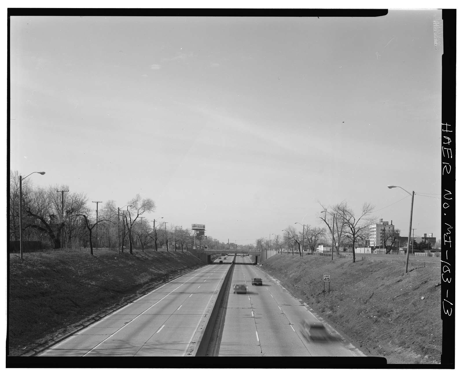 Davison Freeway from M-10 to Oakland Avenue, M-10 to Highland Park, Highland Park, Wayne County, MI