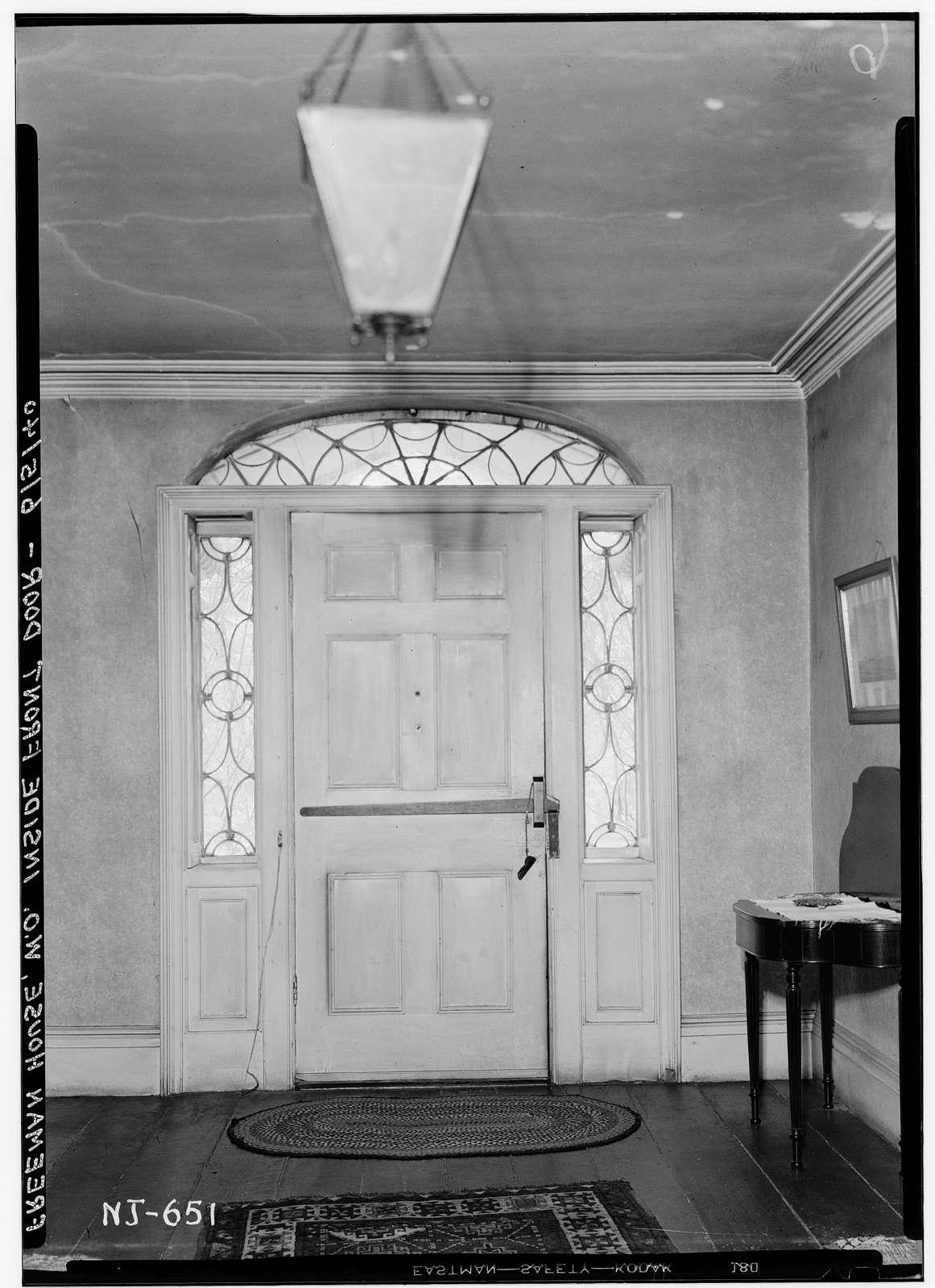 Freeman House, 61 South Valley Road, West Orange, Essex County, NJ