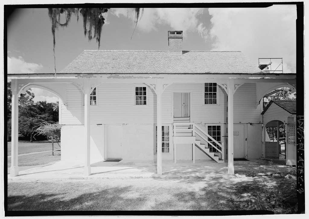 Kingsley Plantation, Kitchen, 11676 Palmetto Avenue, Jacksonville, Duval County, FL