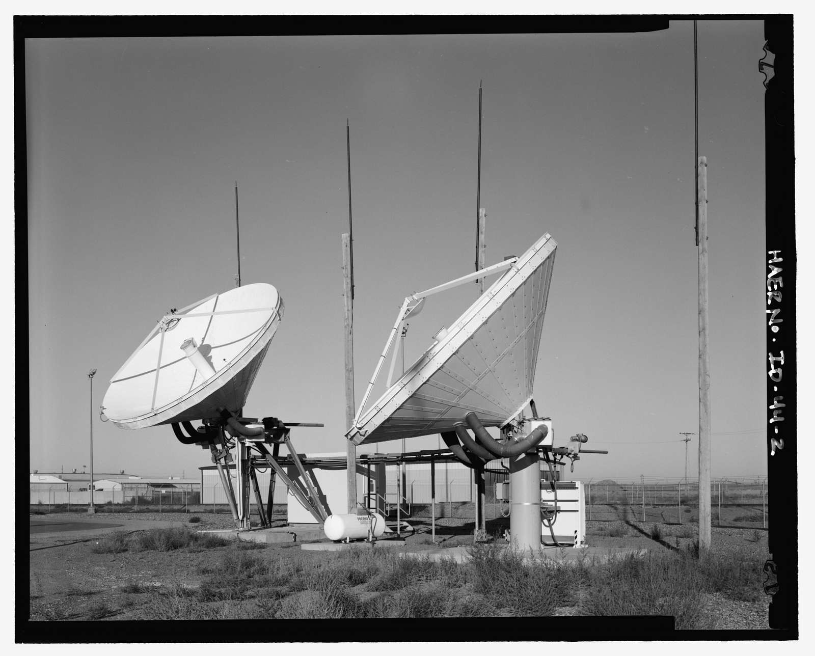Over-the-Horizon Backscatter Radar Network, Mountain Home Air Force Operations Building, On Desert Street at 9th Avenue Mountain Home Air Force Base, Mountain Home, Elmore County, ID