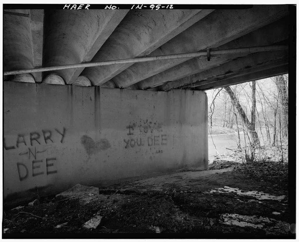 Pendleton Avenue Bridge, Spanning Fall Creek, Pendleton, Madison County, IN