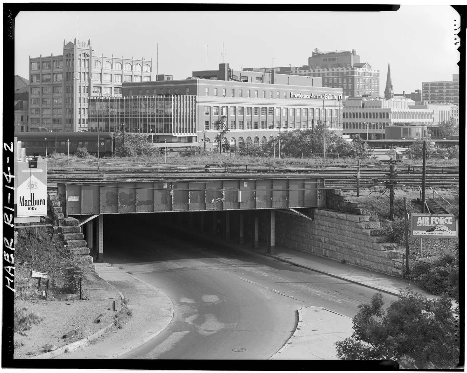 Union Station Viaduct, Spanning Gaspee, Francis, Promenade & Canal Streets, Providence, Providence County, RI