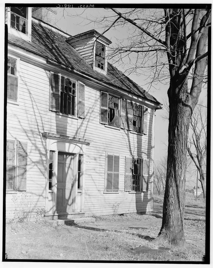 William H. Winn House, 99 Pond Road (moved from New Bridge Avenue & Winn Street, Burlington, MA), Wellesley, Norfolk County, MA