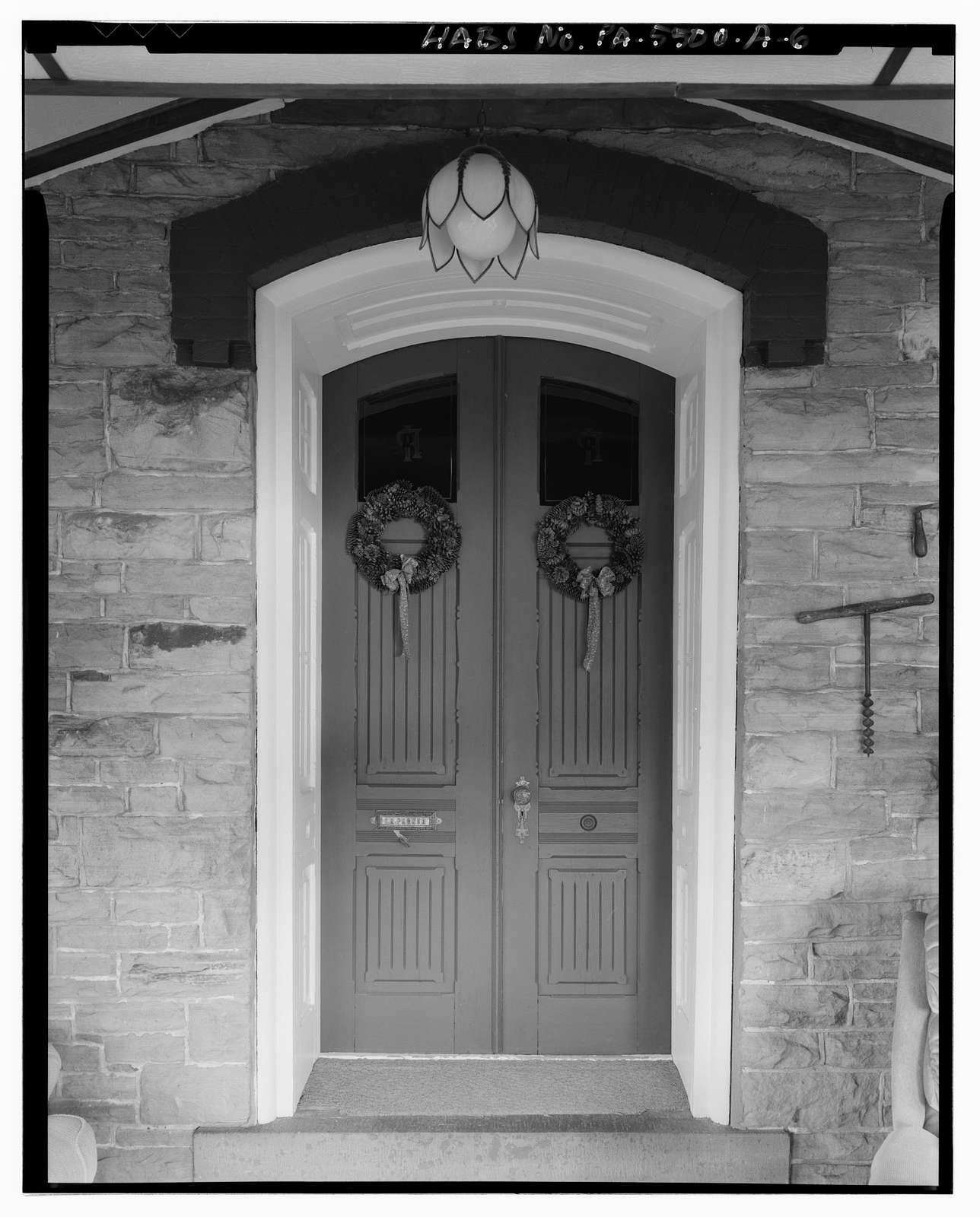 Isaac A. Packer Farm, Farm House, Legislative Route 18011, 2.4 miles northwest of Jay Street Bridge (Farrandsville Road), Lock Haven, Clinton County, PA