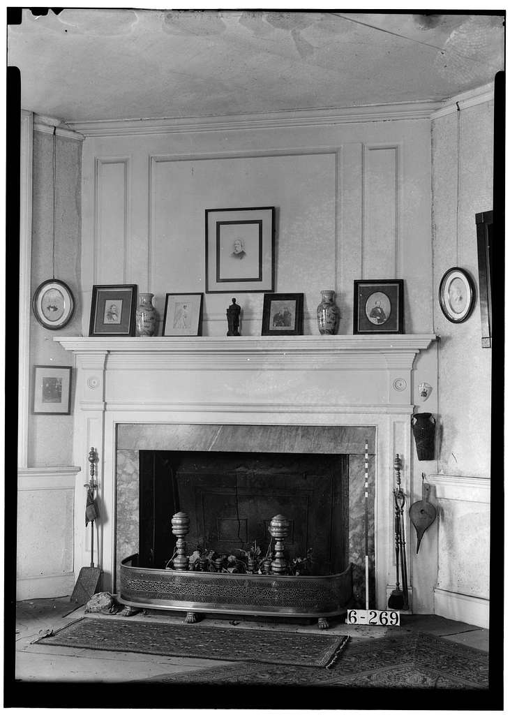 Richard Wood House, Main Street & Bacon's Neck Road, Greenwich, Cumberland County, NJ