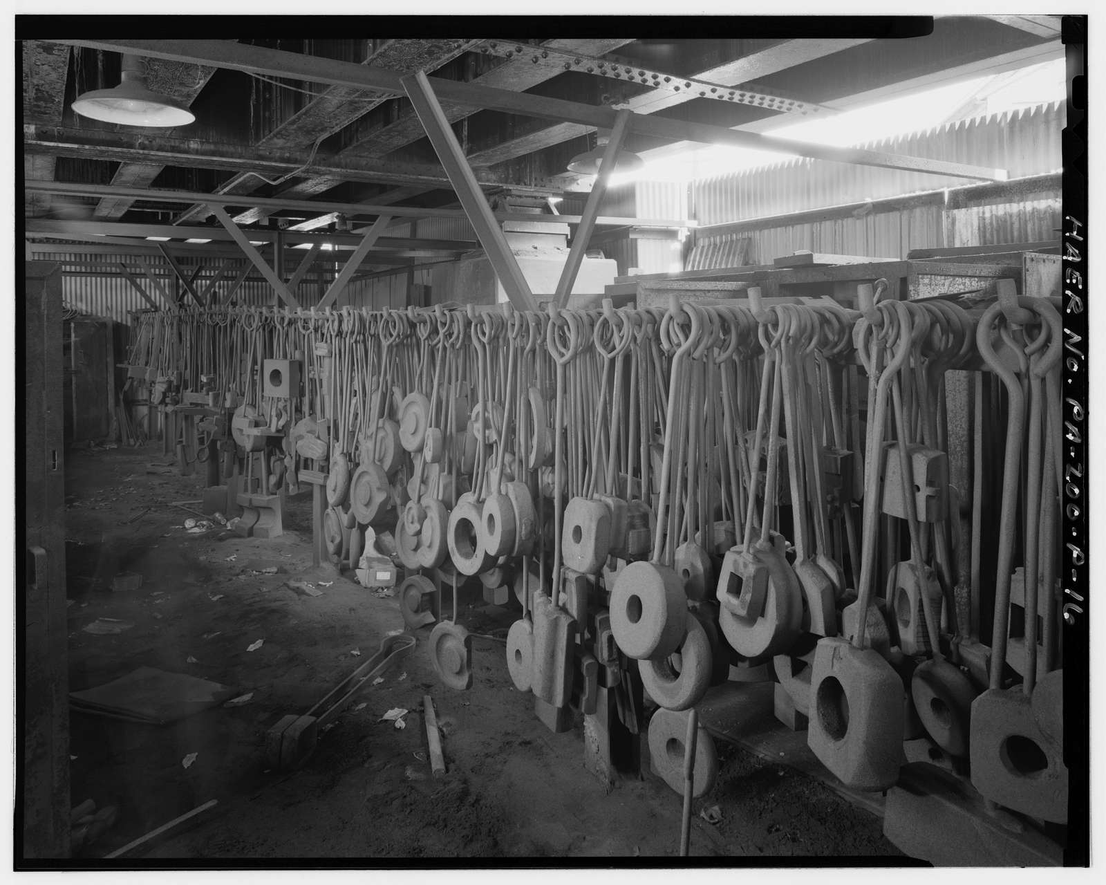 U.S. Steel Homestead Works, Auxiliary Buildings & Shops, Along Monongahela River, Homestead, Allegheny County, PA