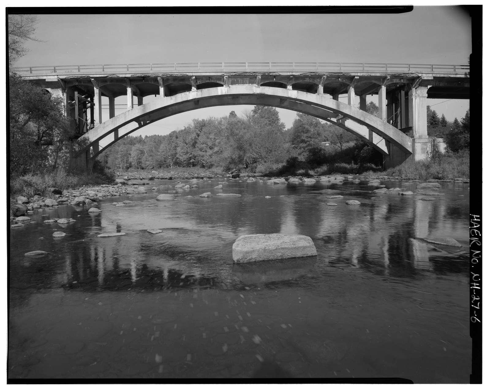 Kelleyville Bridge, Spanning Sugar River at State Route11/103, Newport, Sullivan County, NH