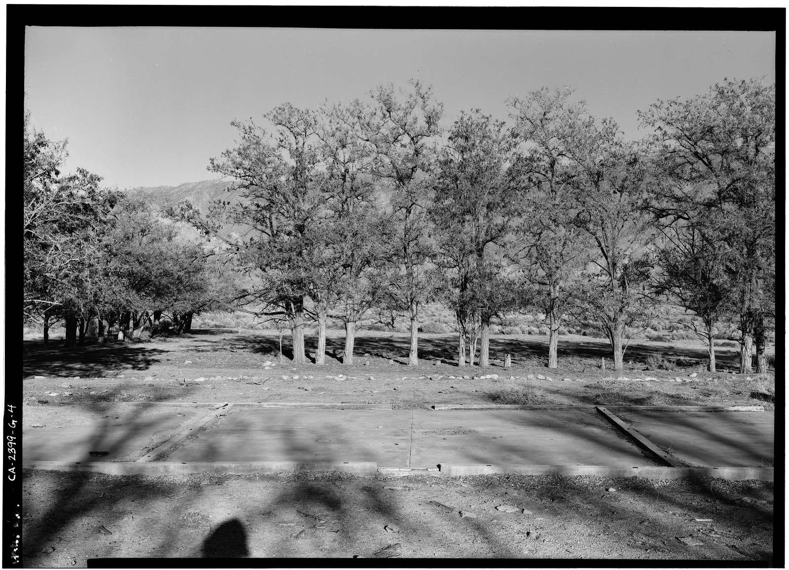 Manzanar War Relocation Center, Chicken Ranch, Independence, Inyo County, CA
