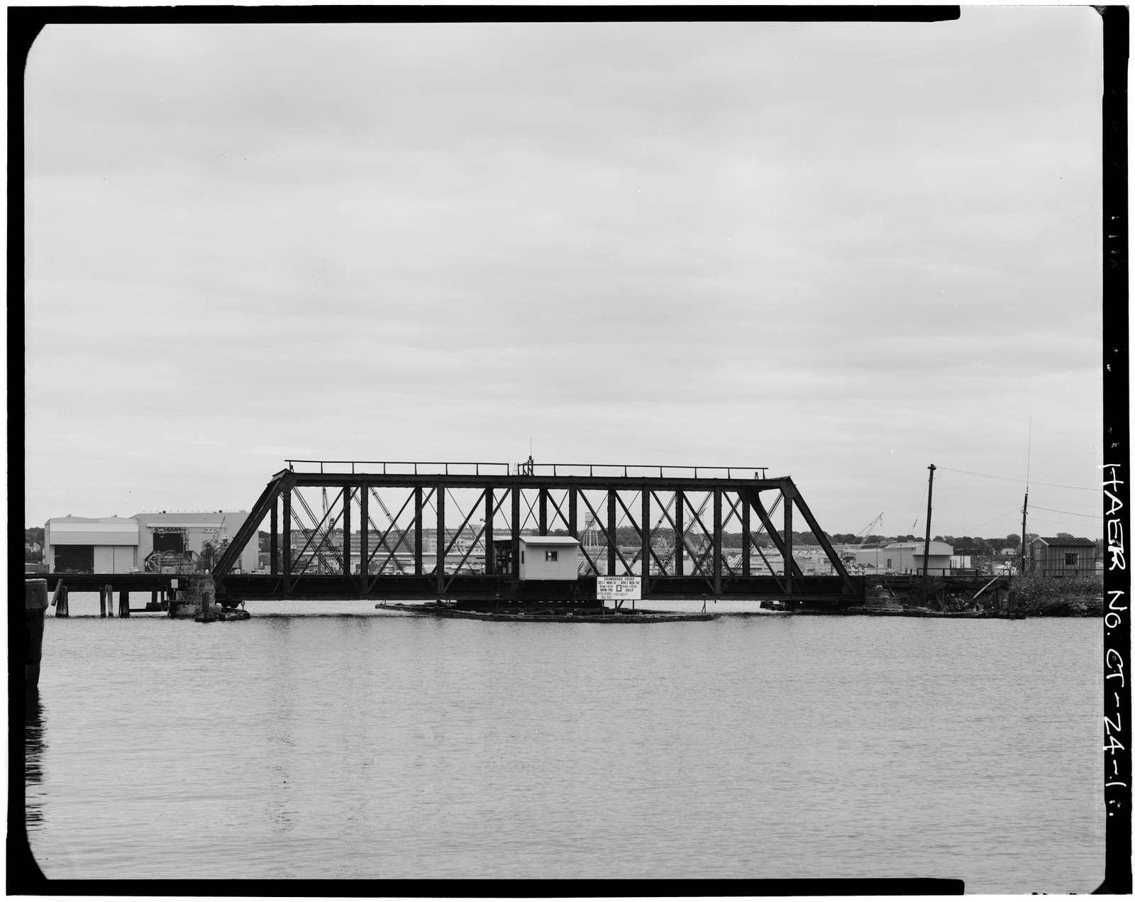 New York, New Haven & Hartford Railroad, Shaw's Cove Bridge, Spanning Shaw's Cove, New London, New London County, CT