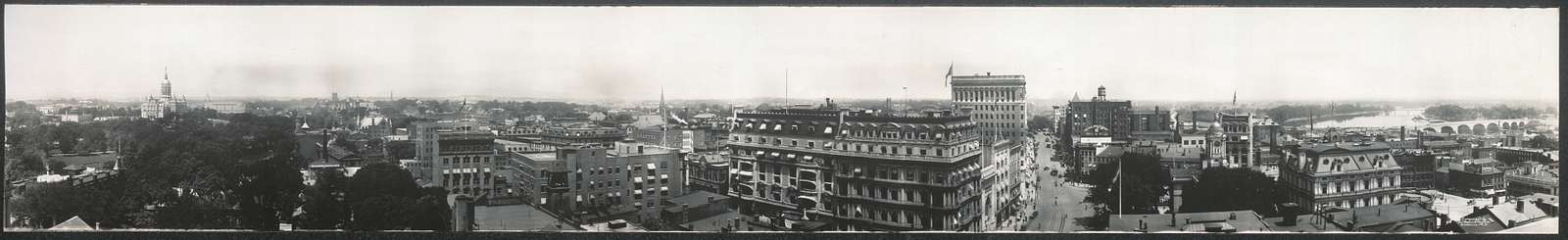 Panorama of Hartford, Conn.