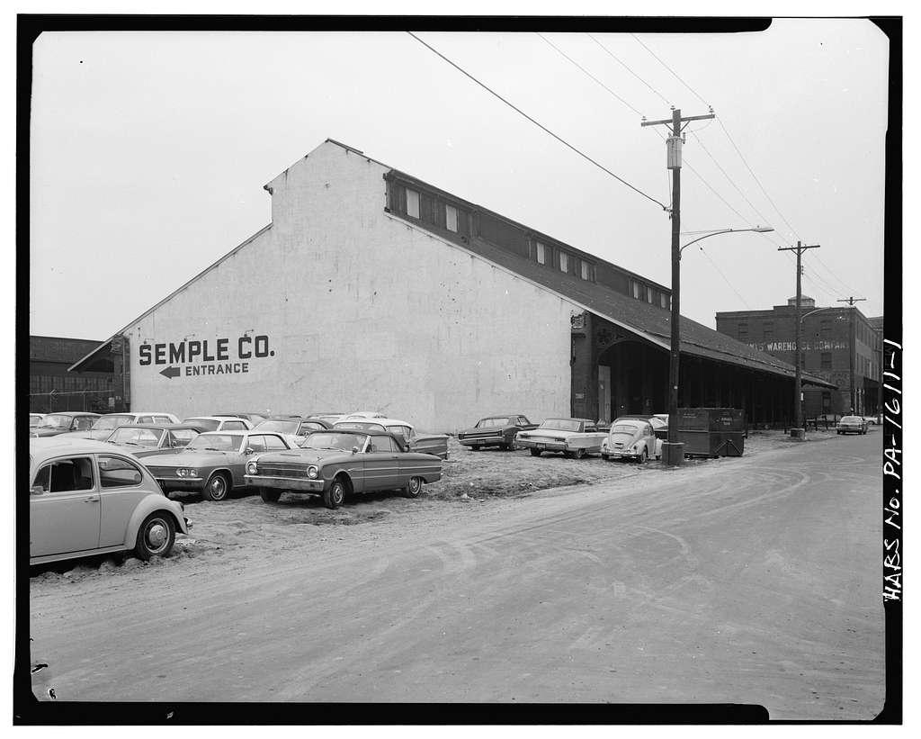 Philadelphia, Wilmington & Baltimore Railroad, Freight Station, Fifteenth & Carpenter Streets, Philadelphia, Philadelphia County, PA