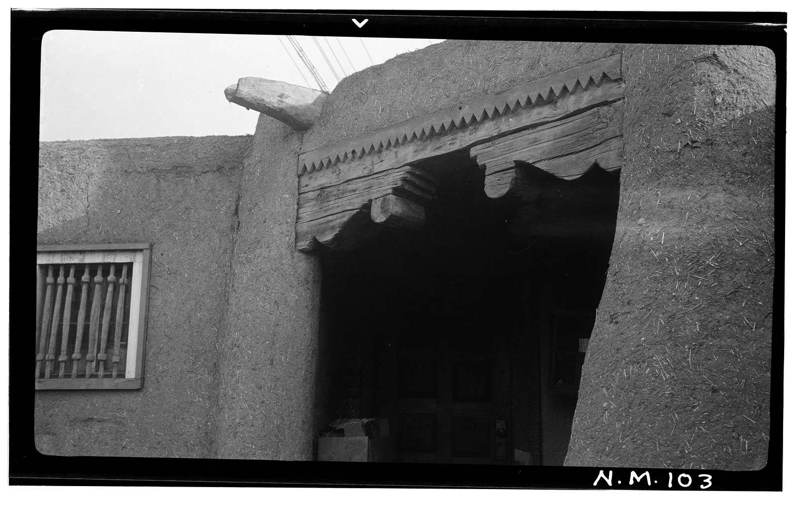 Ralph Meyers House (Corbels), Taos, Taos County, NM