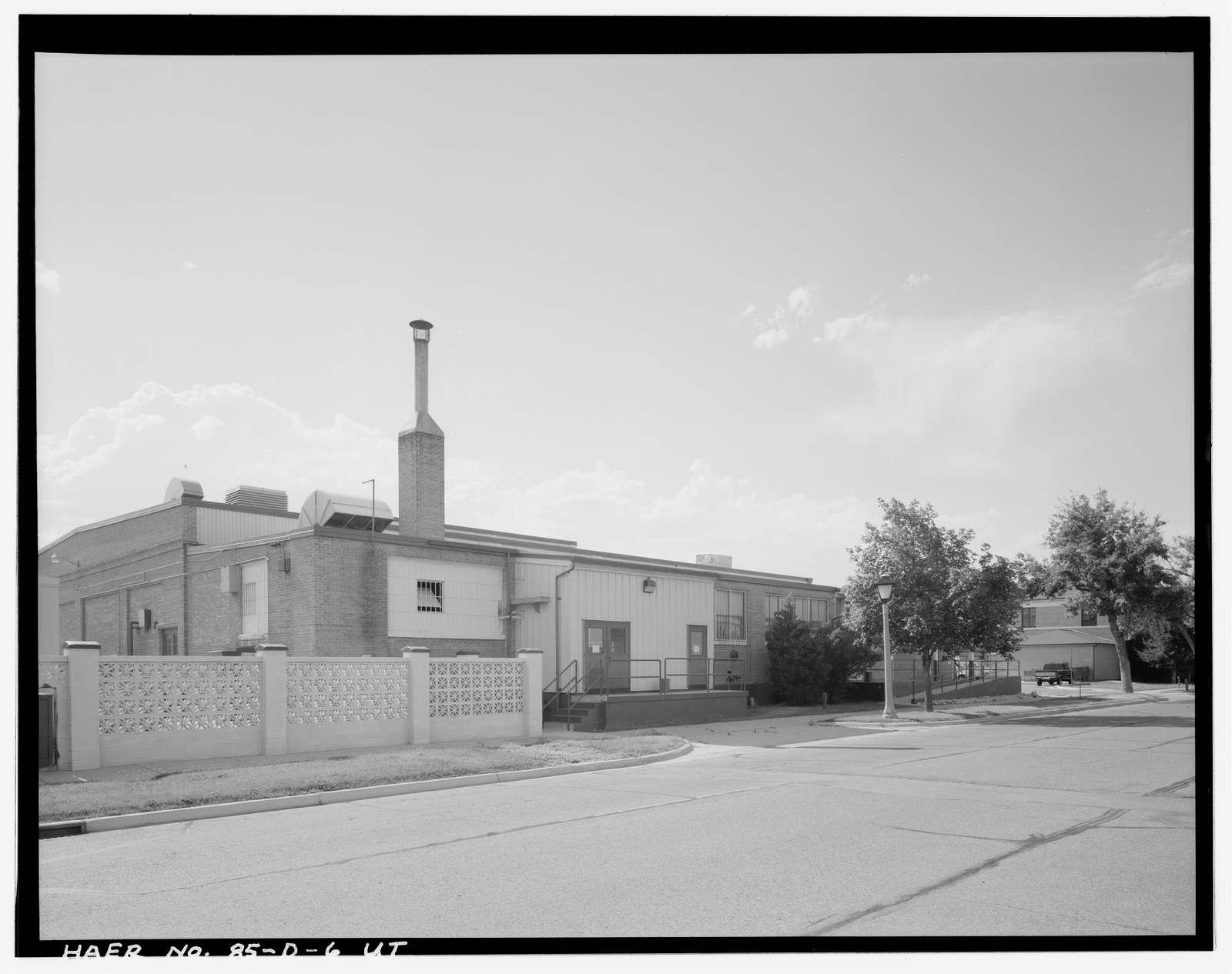 Hill Field, Aircraft Paint, Oil & Dope House, 5923 C Avenue, Layton, Davis County, UT