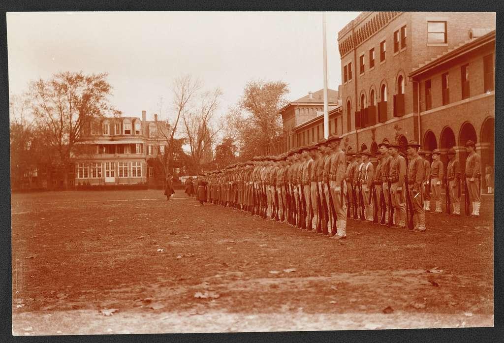 Inspection, Marine Barracks, Washington, D.C.