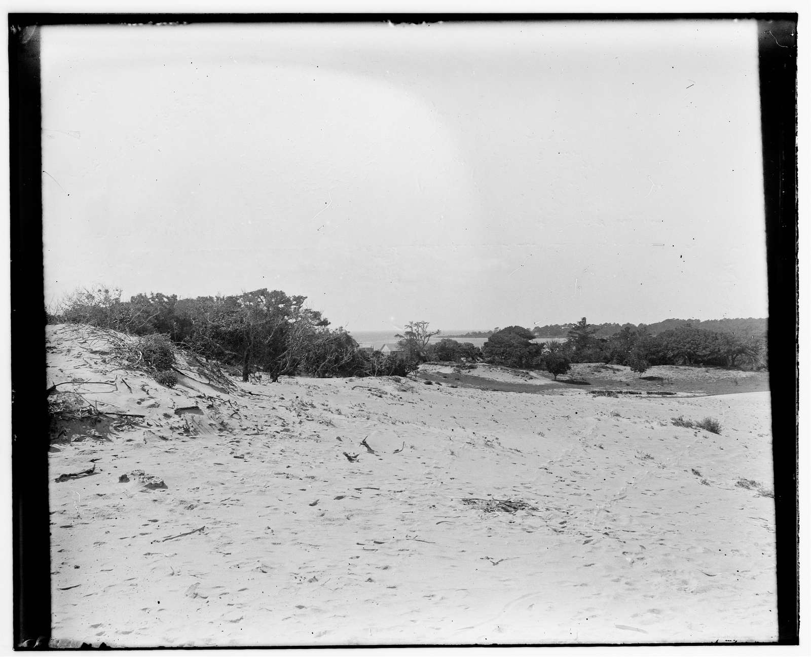 [Kitty Hawk Bay viewed from the Wright brothers' 1900 camp]