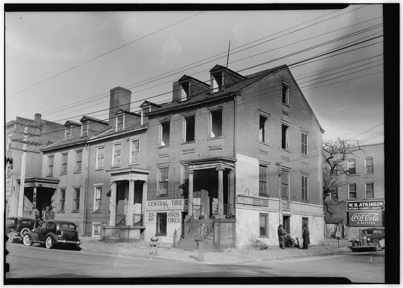 De Saussure House, 316 East Main Street, Richmond, Independent City, VA
