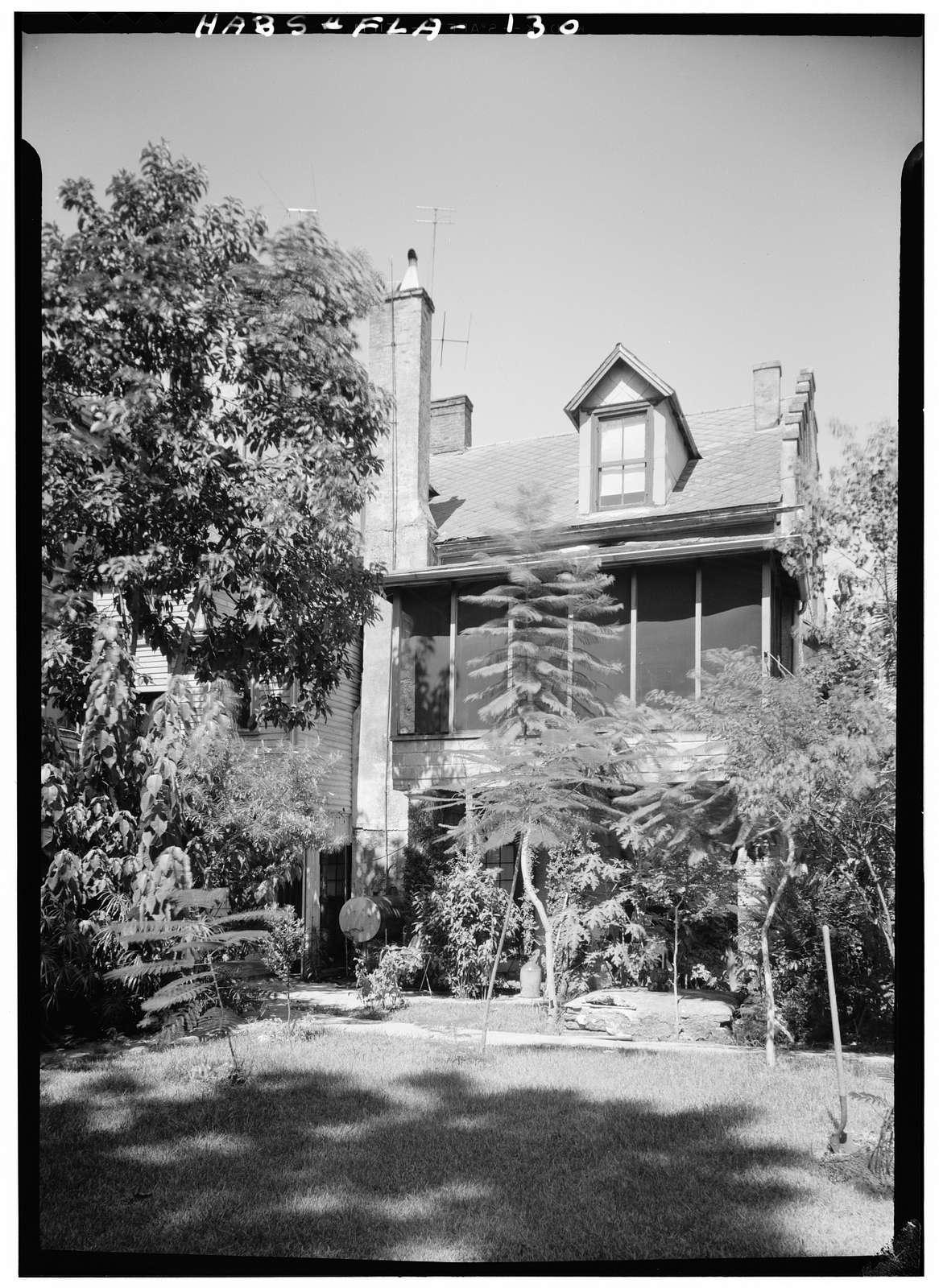 Don Pedro Horruytiner House, 214 Saint George Street, Saint Augustine, St. Johns County, FL
