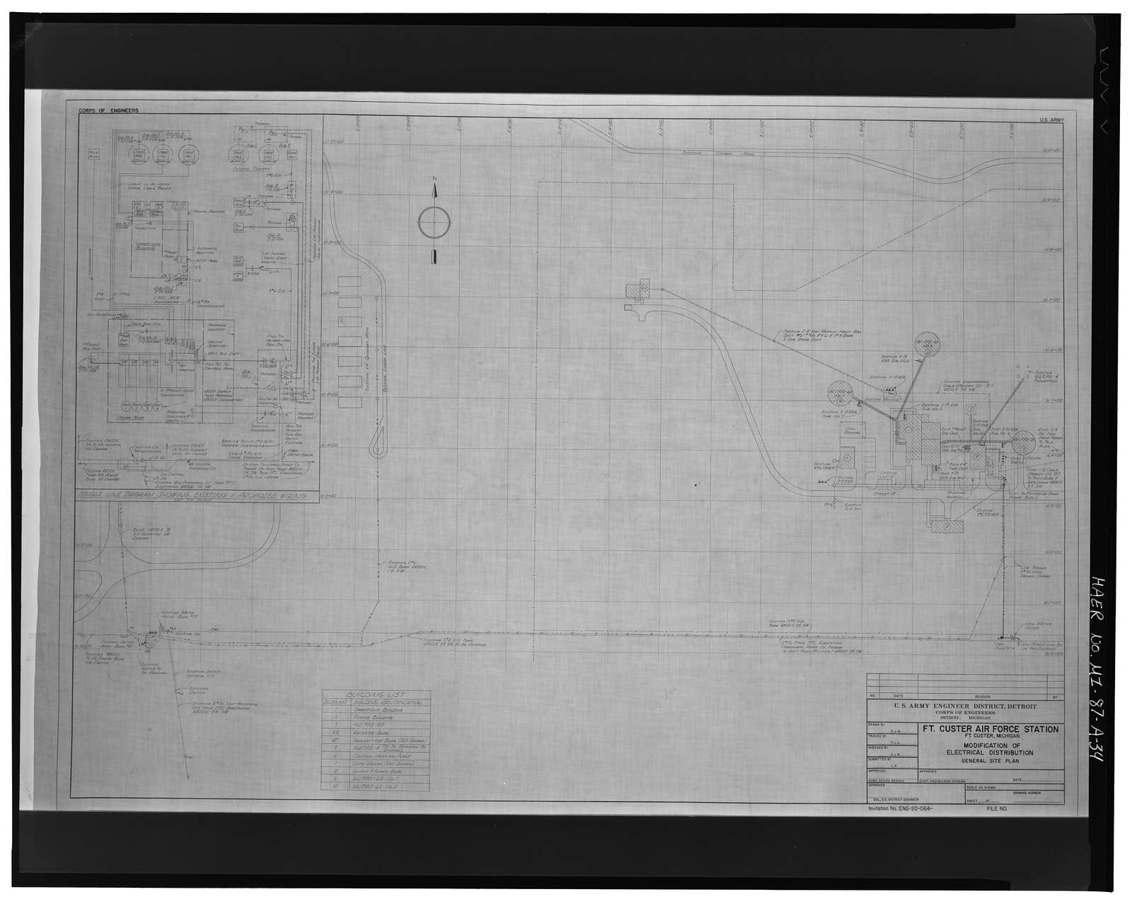 Fort Custer Military Reservation, P-67 Radar Station, .25 mile north of Dickman Road, east of Clark Road, Battle Creek, Calhoun County, MI