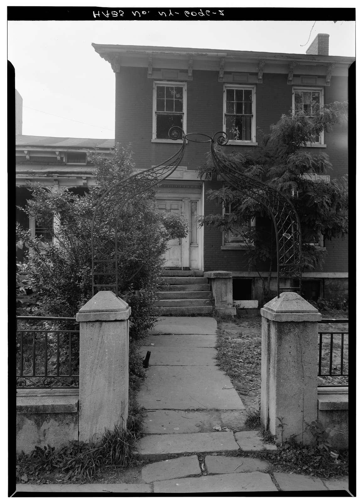 Washington Hunt House, 363 Market Street, Lockport, Niagara County, NY