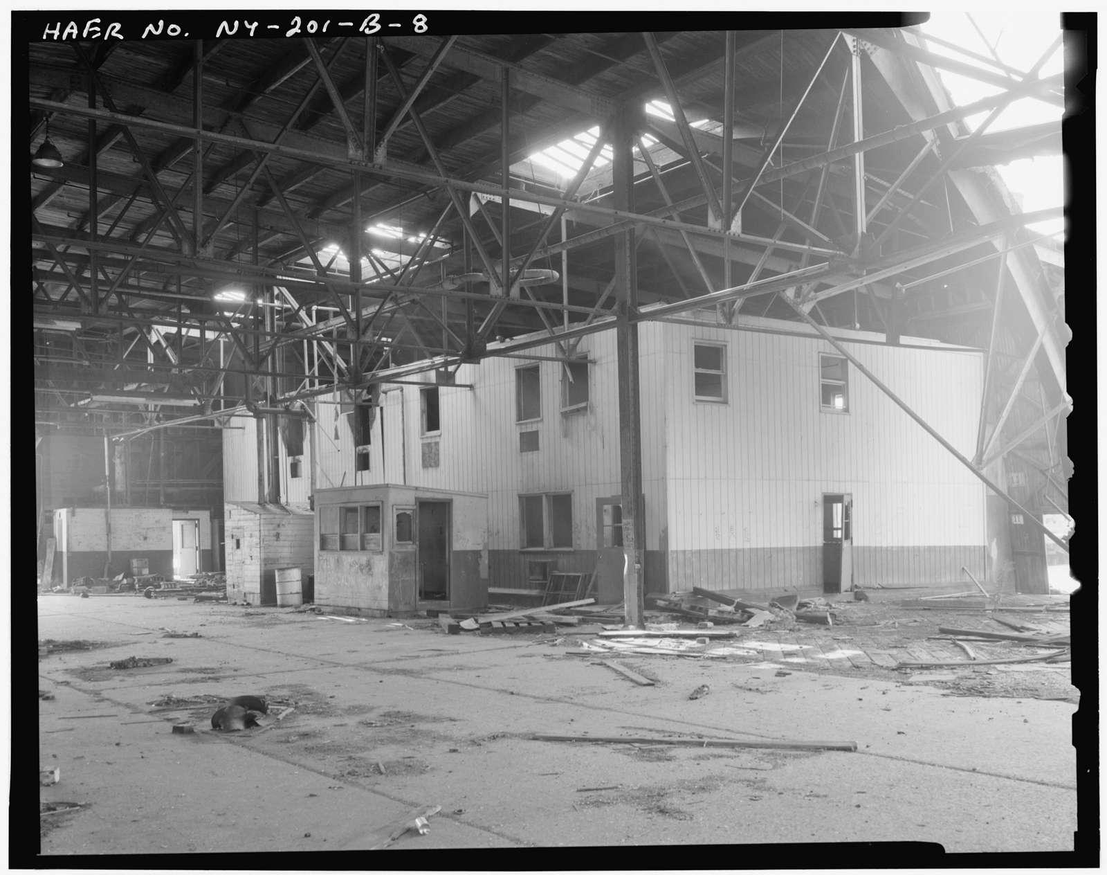 Bush Terminal Company, Pier 5, Opposite end of Forty-first Street on Upper New York Bay, Brooklyn, Kings County, NY