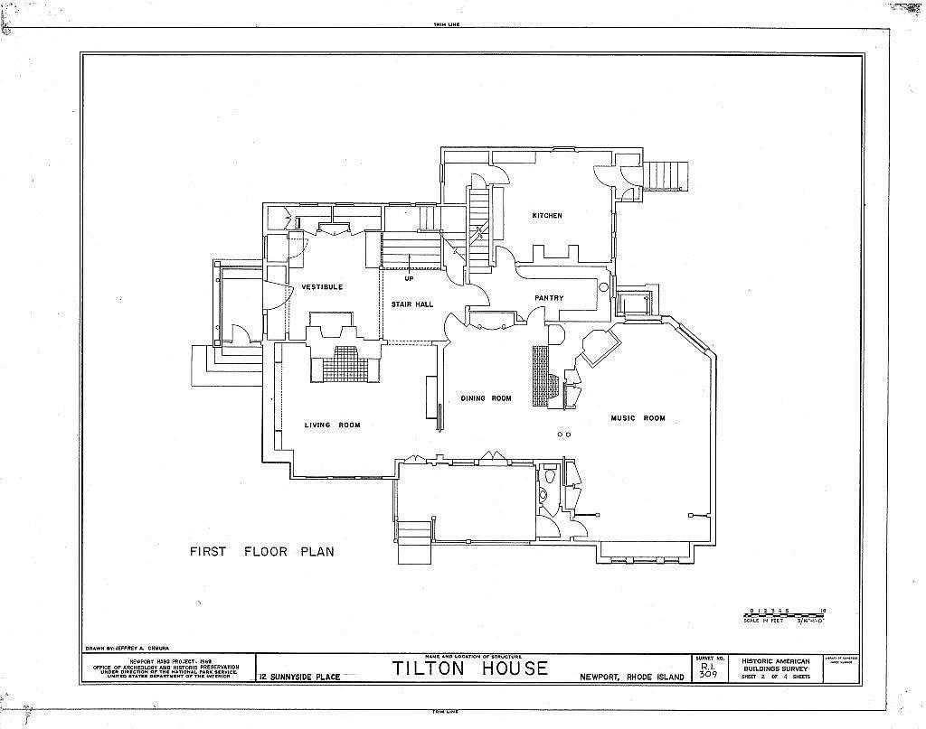 Samuel Tilton House, 12 Sunnyside Place, Newport, Newport County, RI