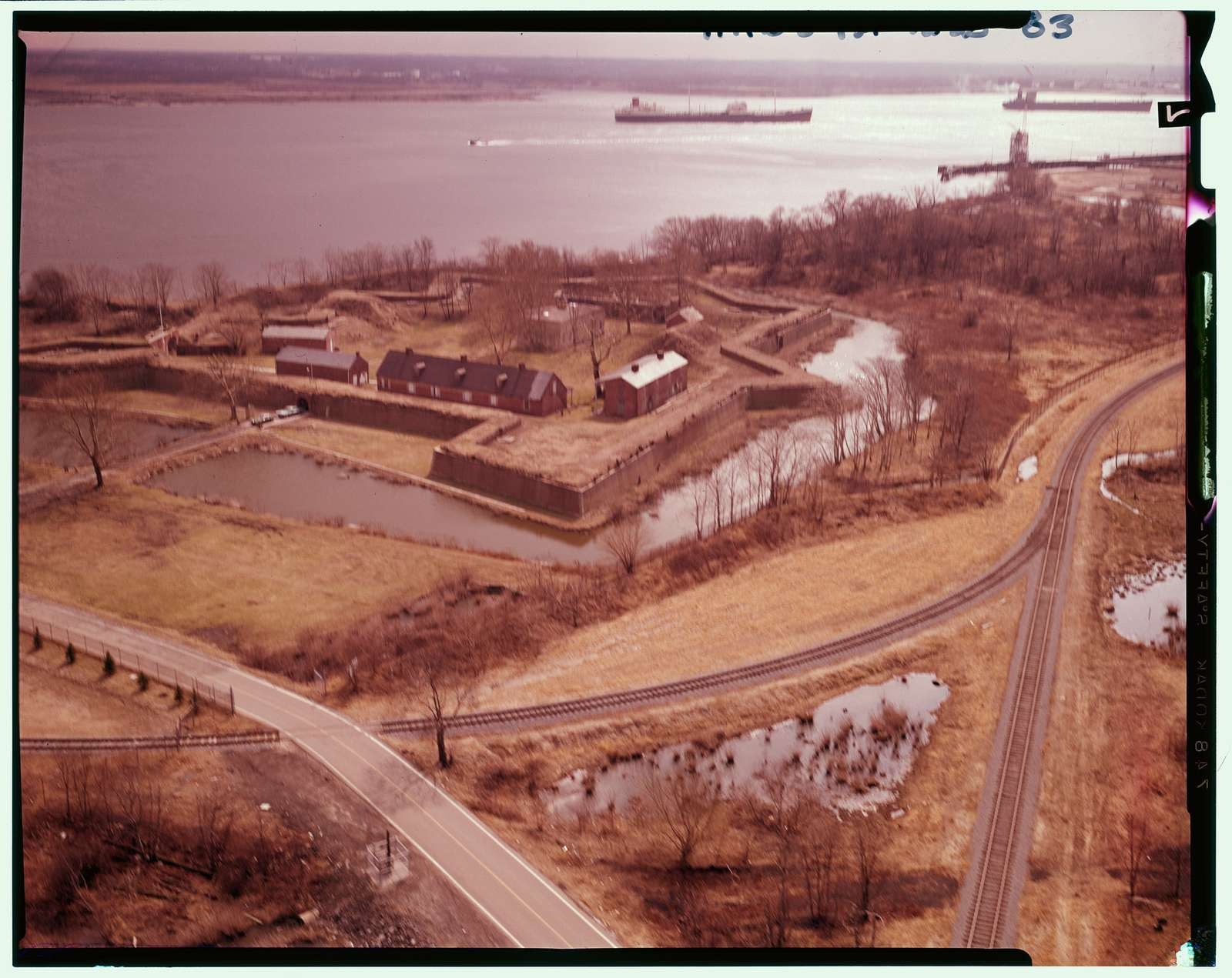 Fort Mifflin, Mud Island, Marine & Penrose Ferry Roads, Philadelphia, Philadelphia County, PA