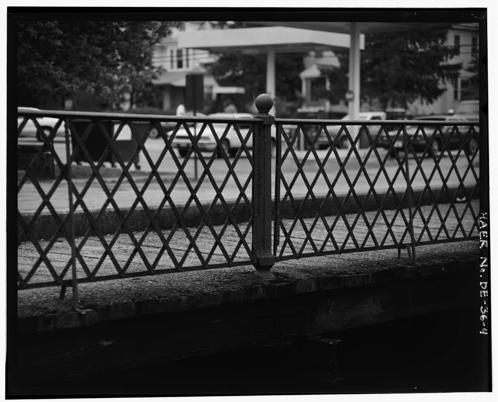 Railroad Avenue Bridge, Spanning Mispillion River on Church Street, Milford, Sussex County, DE