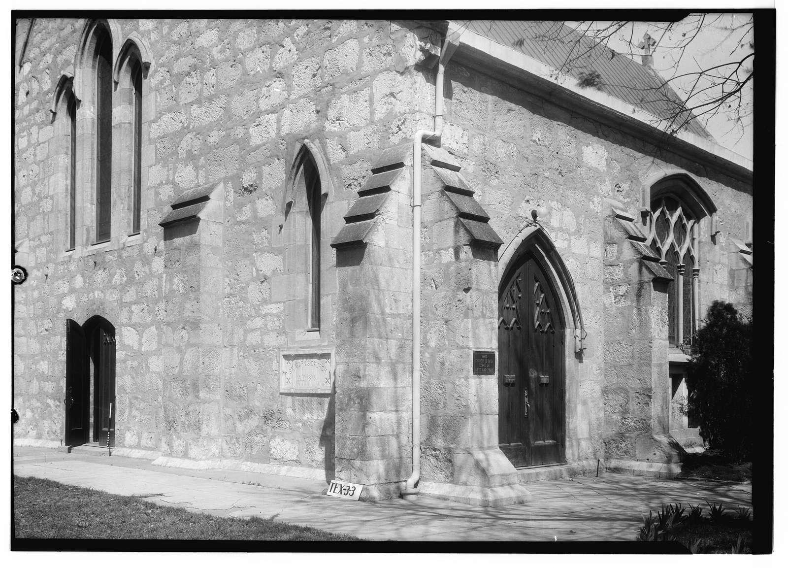 St. Mark's Episcopal Church, 307 East Pecan Street, San Antonio, Bexar County, TX