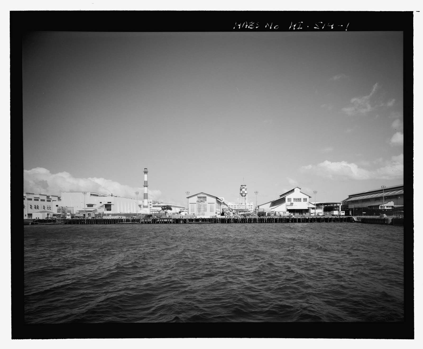 U.S. Naval Base, Pearl Harbor, South Quay Wall & Repair Wharf, L-shaped portion of quay walls starting at east side of mouth of Dry Dock No. 1, continuing along ocean side of Sixth Street, adjacent to Pier B-2, Pearl City, Honolulu County, HI