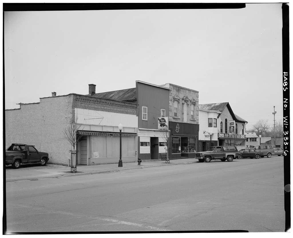 Downtown Boscobel, 826-1120 Wisconsin Avenue, Boscobel, Grant County, WI