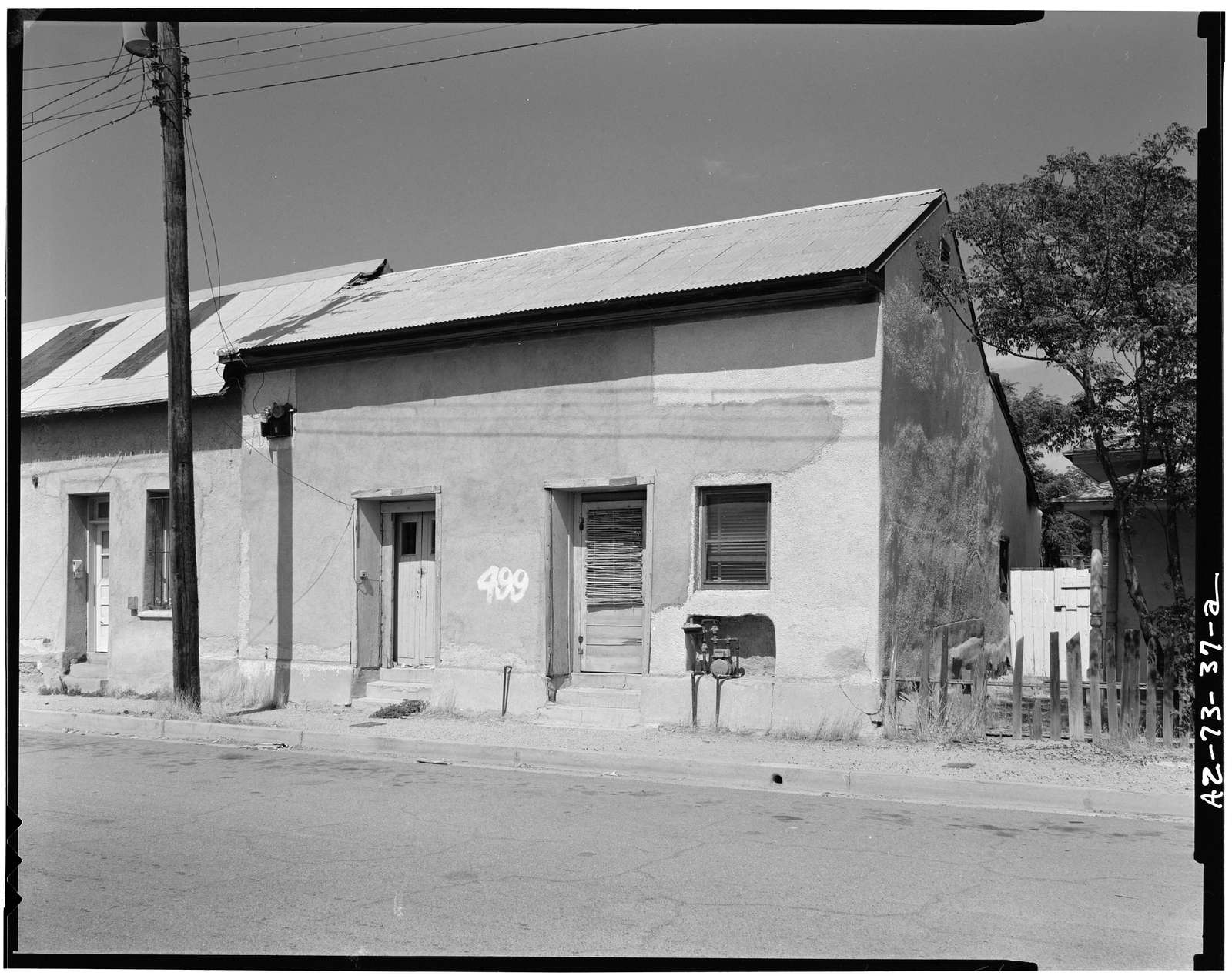 Munoz House, 499-501 South Meyer Avenue, Tucson, Pima County, AZ