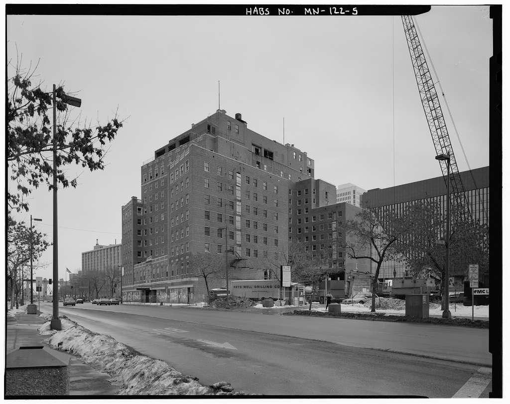 Nicollet Hotel, 235 Hennepin Avenue, Minneapolis, Hennepin County, MN