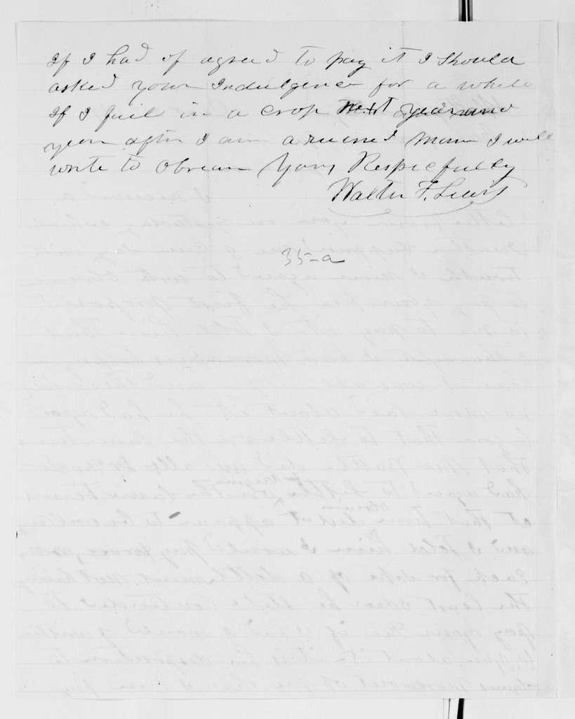 Alexander Hamilton Stephens Papers: General Correspondence, 1784-1886; 1869, Oct. 16-Dec. 31
